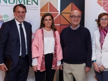 La Fundación Atresmedia renueva la sala de estimulación sensorial para niños con parálisis cerebral de la Fundación Numen