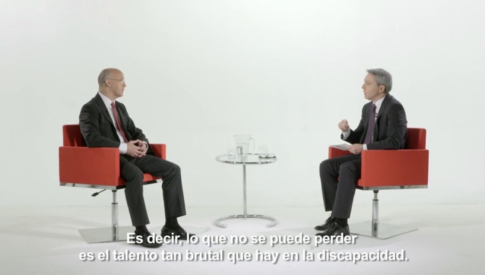 Vicente Vallés entrevista a Javier Quintanilla