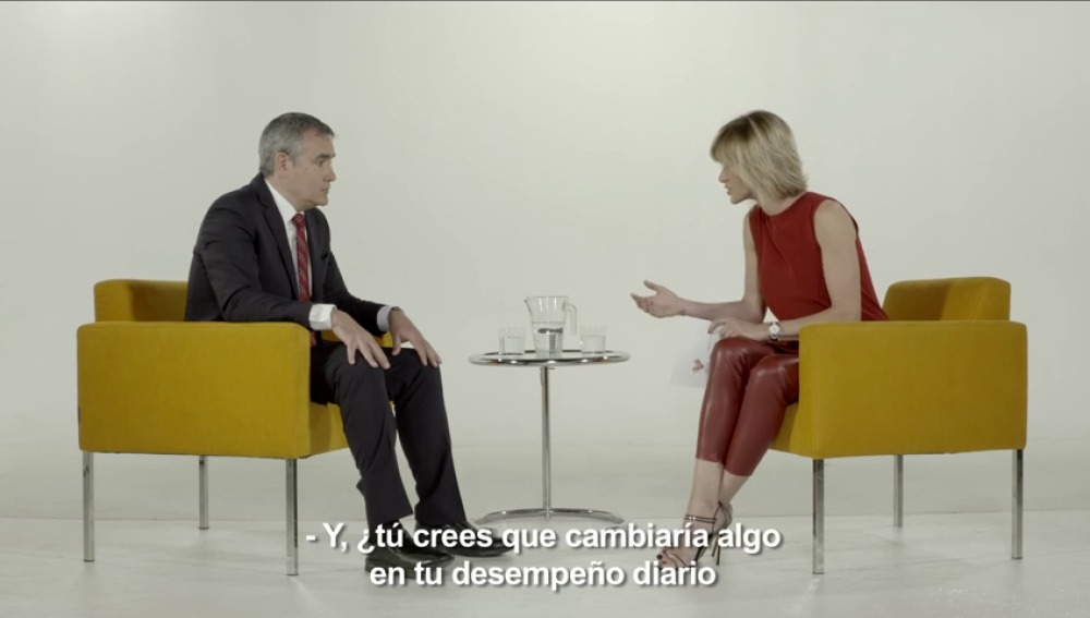 Susanna Griso entrevista a Ismael Pereda