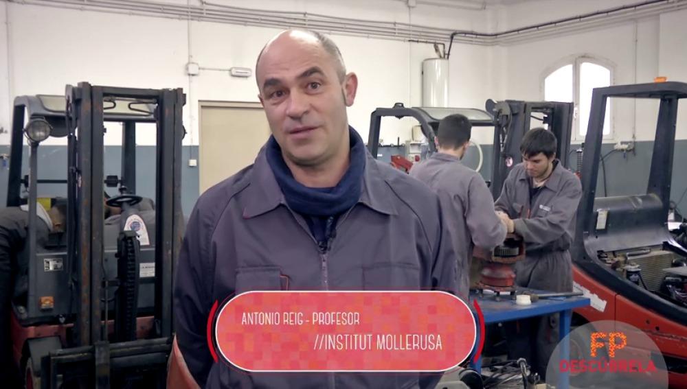 Técnico en Electromecánica de Maquinaria