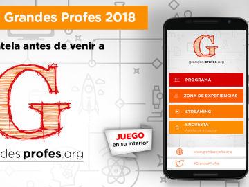 Descarga la app de '¡Grandes Profes!' 2018