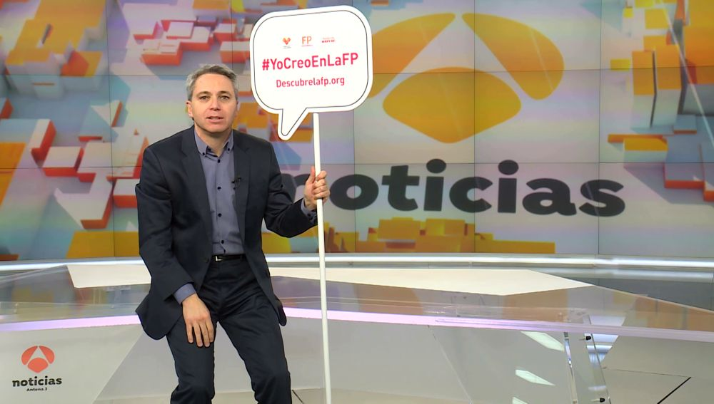 Vicente Vallés se suma a promover la FP