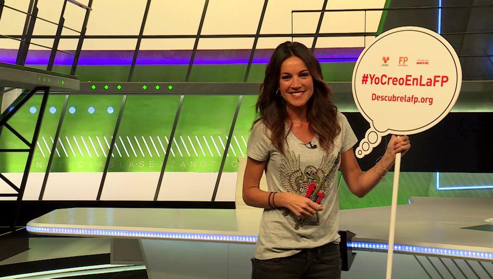 Cristina Saavedra te invita descubrir la FP