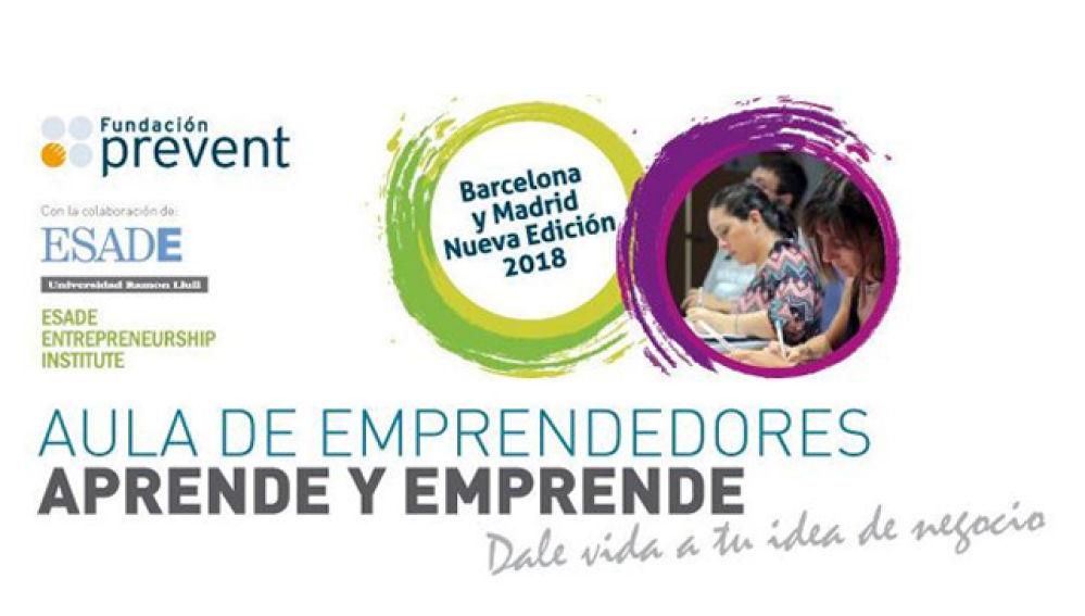 Se abre el plazo de inscripción al programa 'Aula de Emprendedores' para personas con discapacidad