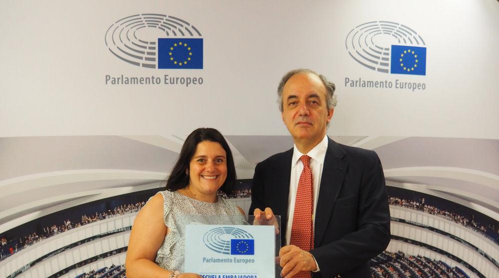 El IES Luis Vives de Leganés, reconocido como 'Escuela Embajadora' del Parlamento Europeo