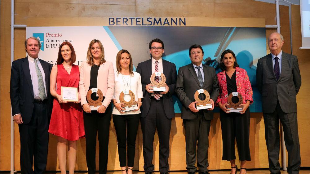 El Centro Xabec gana el II Premio Alianza para la FP Dual