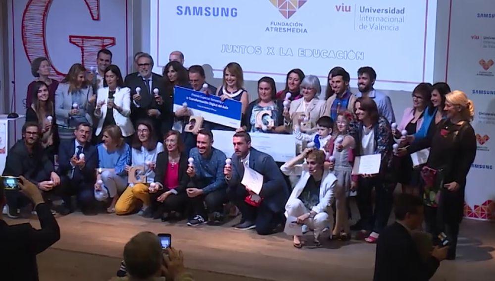 Los ganadores de los Premios 'Grandes Profes, Grandes Iniciativas' cuentan su experiencia