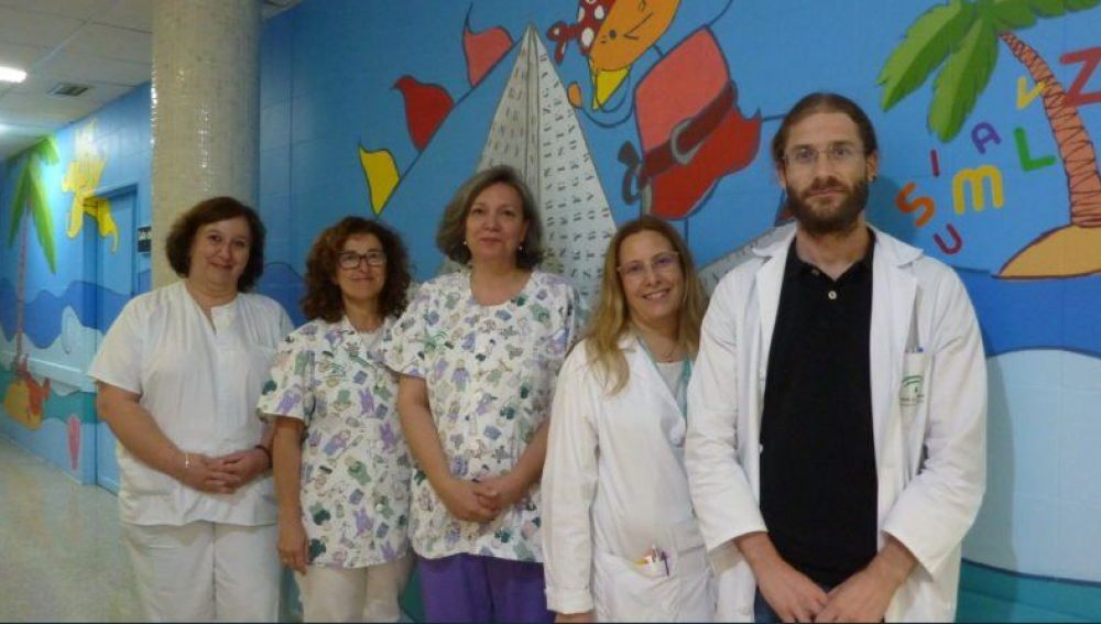 El Hospital Juan Ramón Jiménez pone en marcha un nuevo equipo provincial de cuidados paliativos pediátricos