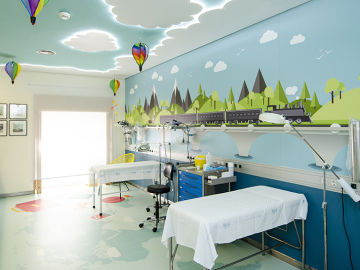 El Hospital Gregorio Marañón transforma la Unidad de Dolor de Pediatría en la 'Unidad del Color'
