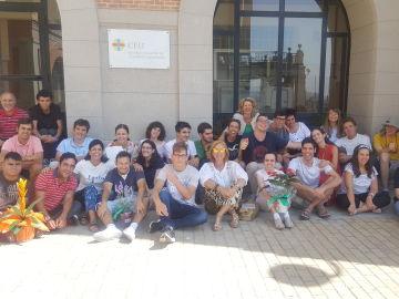 Los alumnos de la Fundación Oxiria comienzan un nuevo curso