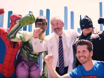 Los niños del Hospital General de Alicante, protagonistas de un videoclip