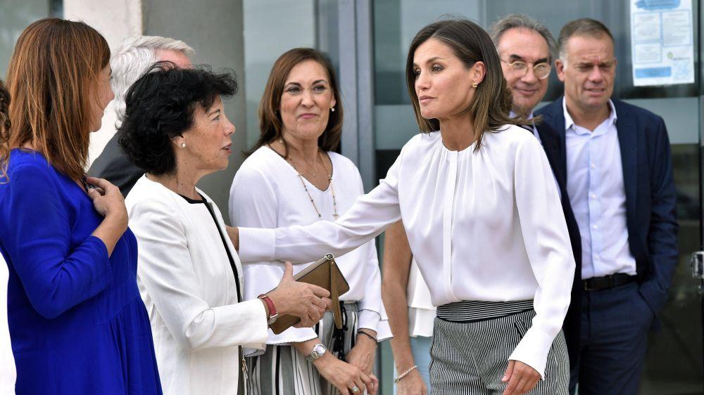 La reina Letizia inaugura el curso de FP en un centro sociosanitario