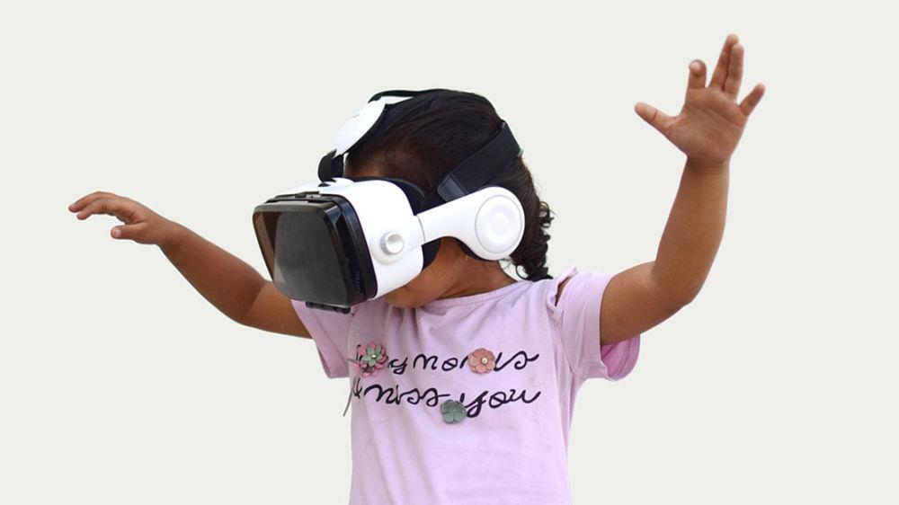 Gafas de realidad virtual para reducir la percepción del dolor en los niños hospitalizados