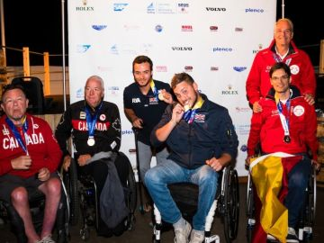 España consigue dos medallas en el mundial de vela paralímpica