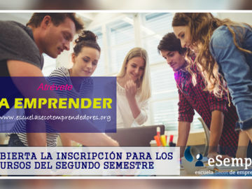 Abierto el plazo de inscripción a los cursos de la Escuela Secot de Emprendedores
