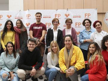 Carmen Bieger, directora de la Fundación Atresmedia, inaugura el curso académico en el Instituto Tecnológico Fuenllana