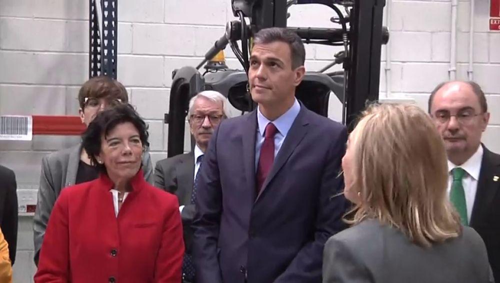 Sánchez anuncia un programa de ayudas a proyectos de FP por seis millones