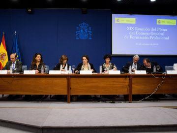 El Gobierno convoca hoy el Pleno del Consejo General de la Formación Profesional