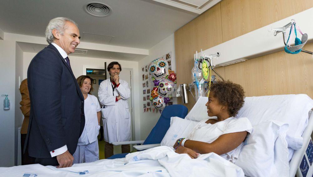 El Hospital La Paz inaugura una unidad para la Investigación y Terapias Avanzadas en cáncer infantil