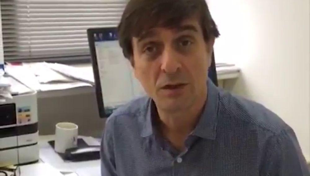 Jordi Miró se suma a la campaña 'Borremos el dolor infantil'