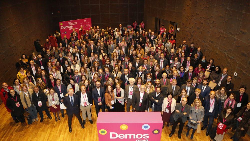'Demos 2018: Foro de Fundaciones y Sociedad Civil' reúne a más de 800 personas