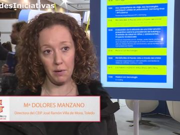 La directora del colegio José Ramón Villa de Mora en Toledo, Mª Dolores Manzano, explica por qué es importante impulsar nuevos proyectos en los centros educativos
