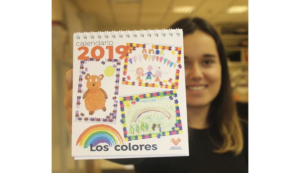 Los colores inspiran el calendario de 2019