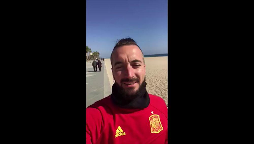 Llorenç Gómez se suma a la campaña 'Borremos el dolor infntil'