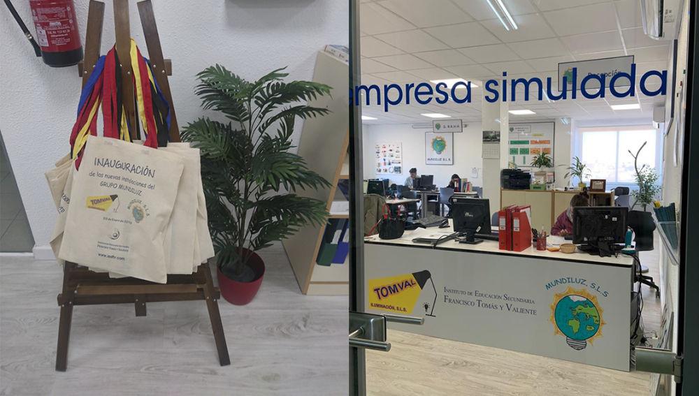 El IES Francisco Tomás y Valiente inaugura nuevas instalaciones para la familia profesional de Administración y Gestión