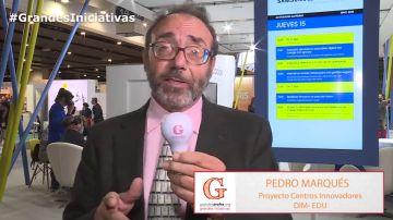 """Pedro Marqués: """"Si compartimos ideas en 'Grandes Profes, Grandes Iniciativas', tendremos más"""""""