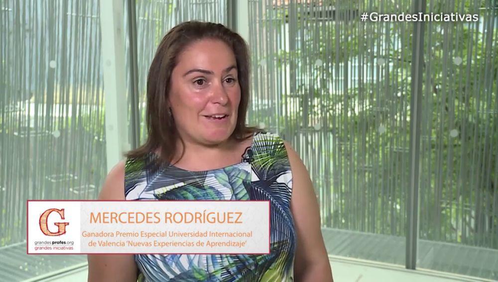 Mercedes Rodríguez, premiada por el trabajo diario de su centro