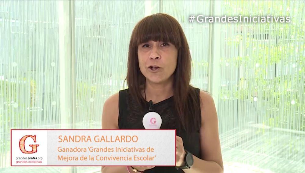 """Sandra Gallardo: """"Los profesores tenemos mucho que hacer para mejorar esta sociedad"""""""