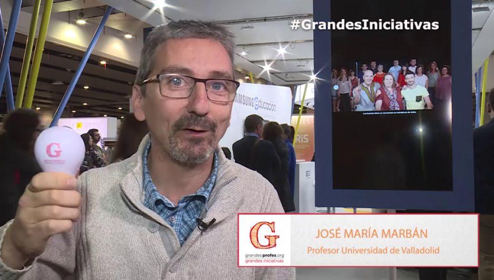 """José Mª Marbán: """"Los profesores tenemos que transmitir nuestra gran pasión"""""""
