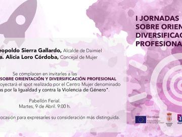 I Jornada sobre Orientación y Diversificación Profesional