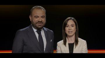 Gabriel Escarrer, presidente de Meliá e Isabel Pardo de Vera, presidenta de ADIF