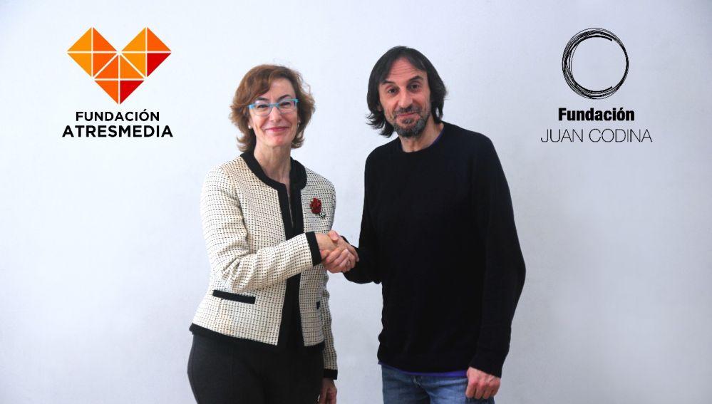 La Fundación ATRESMEDIA y la Fundación Juan Codina alcanzan un acuerdo para becar a alumnos con discapacidad en Interpretación