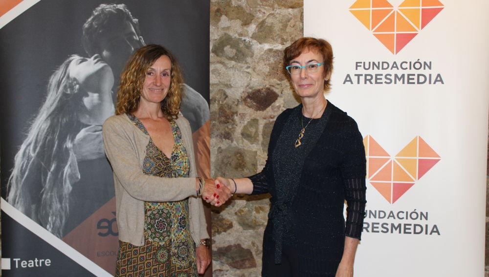 Firmamos un acuerdo con EOLIA para becar en interpretación a alumnos con discapacidad