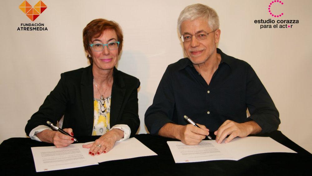 Firma con el Estudio Corazza para el actor