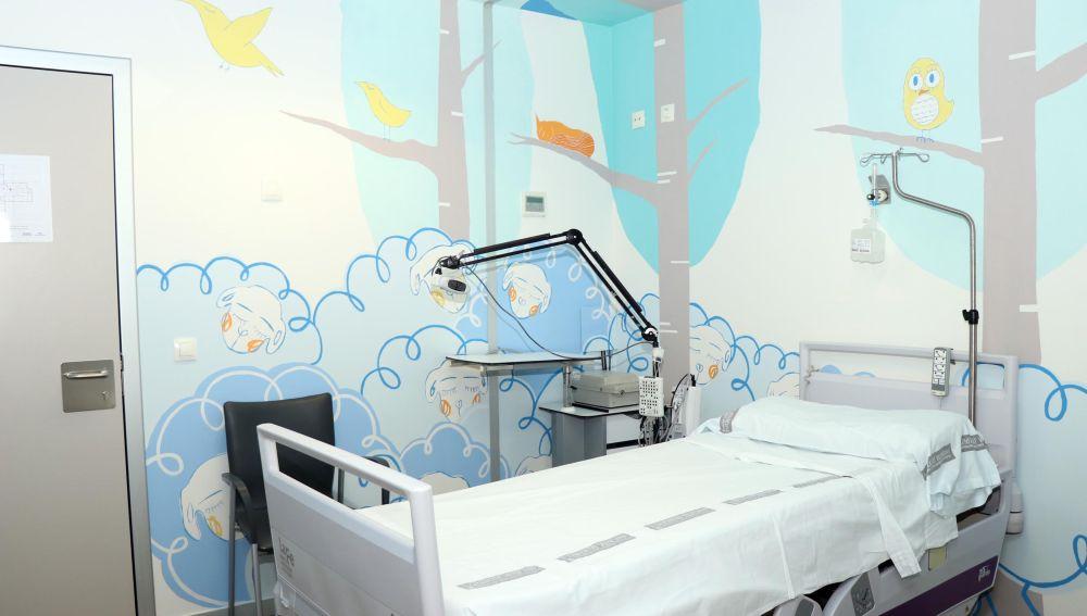 Humanización de espacios en el Hospital La Fe