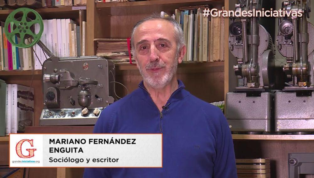 El sociólogo y escritor Mariano Fernández Enguita te invita a innovar en la escuela y a poner en marcha tus iniciativas