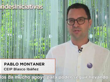 Pablo Montaner, profesor en el CEIP Blasco Ibáñez, te anima a poner en marcha tu iniciativa