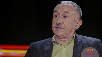 Pepe Álvarez, Secretario General de UGI