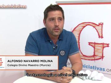 Alfonso Navarro reflexiona sobre el uso de las tecnologías y la igualdad de oportunidades en el aula