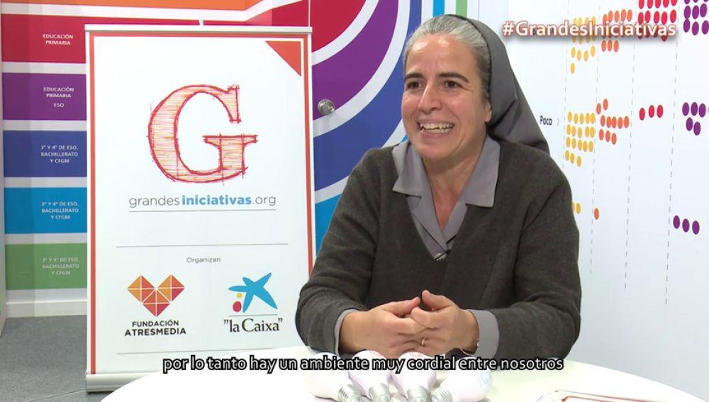 Mónica Ferré indica los valores más importantes en su centro