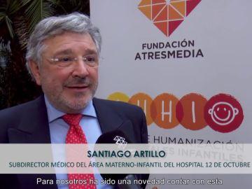 """Santiago Artillo: """"El IHHI nos permite conocernos mejor y saber cómo lo estamos haciendo"""""""
