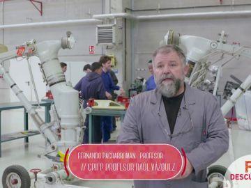 Técnico Superior en Mantenimiento Aeromecánico de Aviones con Motor de Turbina