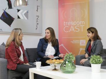 Nuria Alonso, en el programa TrescomCast