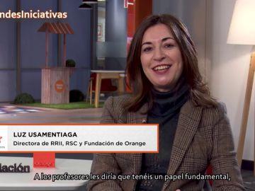 Luz Usamentiaga anima a los docentes a formarse en el uso de la tecnología