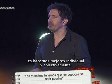 Mensajes de motivación y todo nuestro apoyo a los Grandes Profes: Cesar Bona