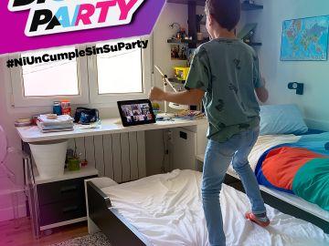 Fiesta de cumpleaños virtual